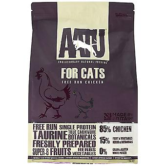 AATU 80/15 gatto asciutto singola proteina alimentare pollo