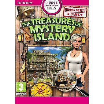 The Treasure of Mystery Island (PC DVD)-fabriken förseglad