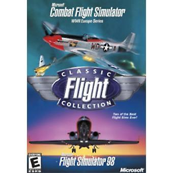 Microsoft Classic Flight Collection bekämpa flygning SIM Flight Sim 98-nytt