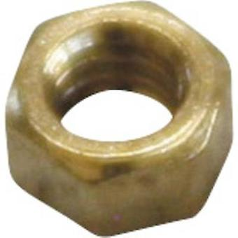 סול מומחה MM 1.6 פליז מיקרו אגוזים (Ø) 3.5 mm 25 pc (עם)
