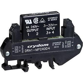 Relé de DIN Rail Mount estado sólido Crydom DRA1-MP240D3, AC