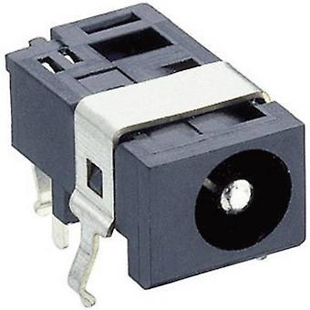 Lumberg 1613 05 Low power connector Socket, horizontal mount 4.4 mm 1.6 mm 1 pc(s)