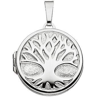 Древо жизни Древо жизни медальон круглый серебряный родиевым чтобы открыть 2 фотографии