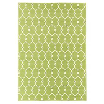 Outdoor carpet for Terrace / balcony green Vitaminic trellis Green 133 / 190 cm carpet indoor / outdoor - for indoors and outdoors