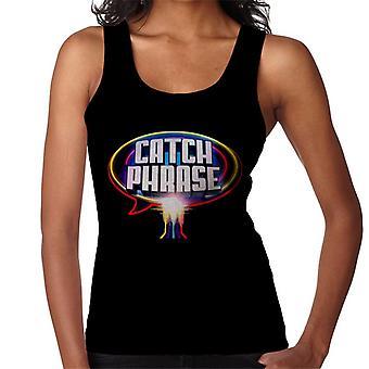 Retro Catchphrase Logo naisten liivi
