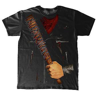 Il costume di t-shirt Negan morto ambulante