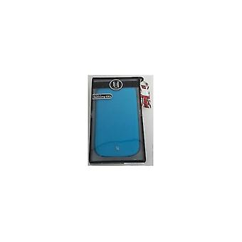 Uunique Folio Case Flourescent Blue voor Samsung i9300 Galaxy SIII