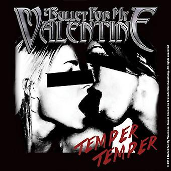 Bullet For My Valentine Coaster Temper Temper new Official 9.5cm x 9.5cm single