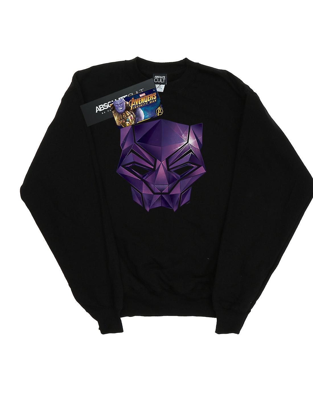 Marvel Men's Avengers Infinity War Black Panther Geometric Sweatshirt