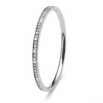 Oliver Weber Bracelet Basic Steel Gold Crystal