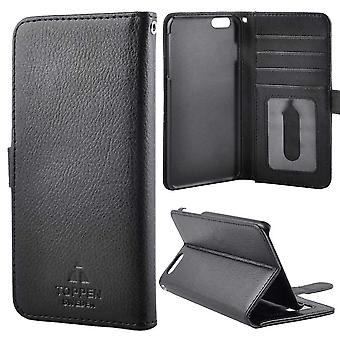 TOP left-handed wallet case iPhone 6S Plus, Black