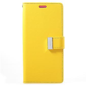 Mercury GOOSPERY Rich Diary till Samsung Galaxy S9 Plus - Gul