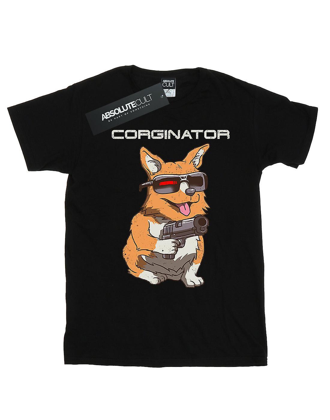 Vincent Trinidad Women's The Corginator Boyfriend Fit T-Shirt