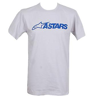 Alpinestars Men's T-Shirt ~ MX Blaze silver
