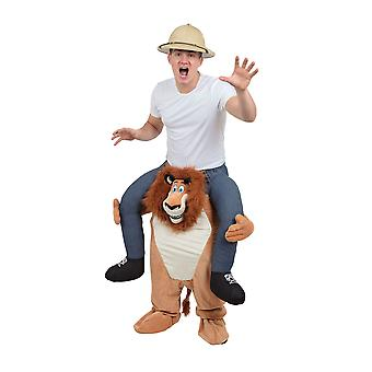 Piggy Back Kostüm Löwe