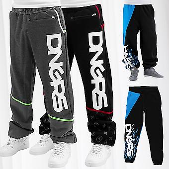 Men's Baggy Sweat Pants DNGRS Jogging Trousers  Sport Fitness Gym Jogger Classic