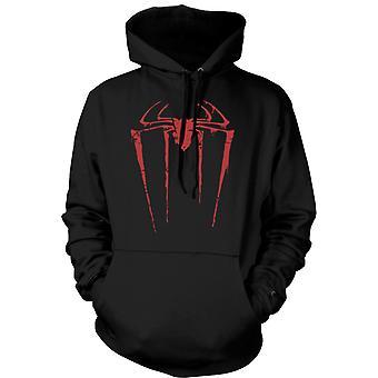 Kinder-Hoodie - Spiderman Grunge-Logo