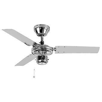 Kroma ventilateur plafond avec pull cord 91cm/36