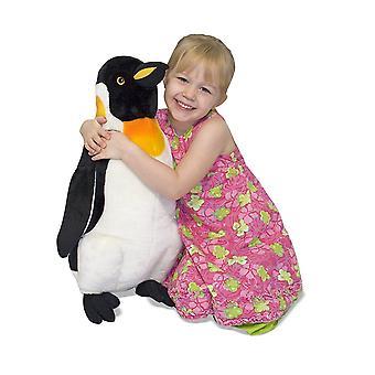 Melissa & Doug gigante pingüino realista casi 0,5 metros de altura