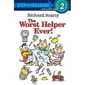 Le Helper pire jamais (pas dans la lecture - niveau 2 - livre de poche)