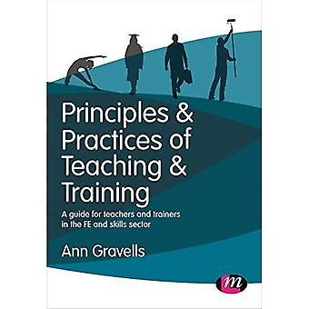 Prinzipien und Praktiken der Lehre und Ausbildung: ein Leitfaden für Lehrer und Ausbilder im Bereich FE und Fähigkeiten