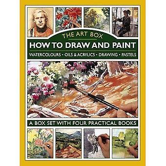 De kunst Box - hoe om te tekenen en schilderen: aquarellen * oliën & acryl * tekening * Pastels