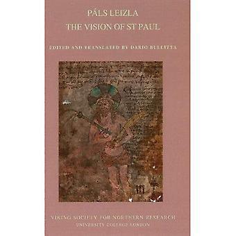 Pals leizla. The Vision of� St Paul: 2017