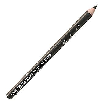 Saffron Soft Kohl Eyeliner Pencil ~ Waterproof Black