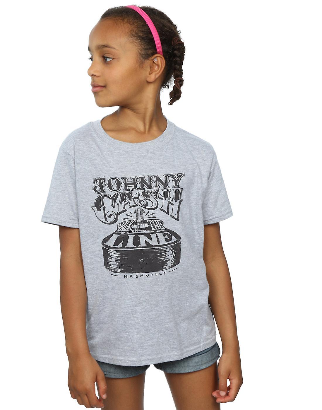 Johnny Cash Girls Nashville Guitar T-Shirt