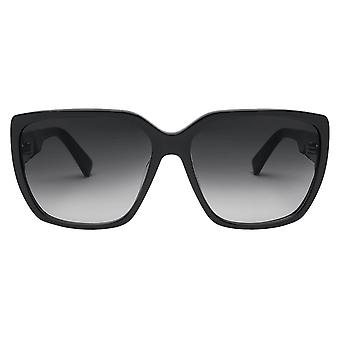 Electric California Honey Bee Sunglasses - Gloss Black/Gradient Black