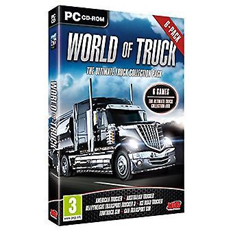 En verden af lastbil - Den ultimative trucksamling 6-pakke (pc-cd) - Ny