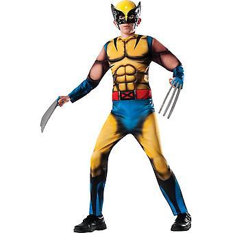 Fantasia infantil de Halloween de Wolverine