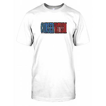 Conservatisme - Mens T Shirt politique