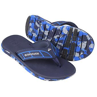 Quiksilver miesten Flow sandaalit-sininen/harmaa