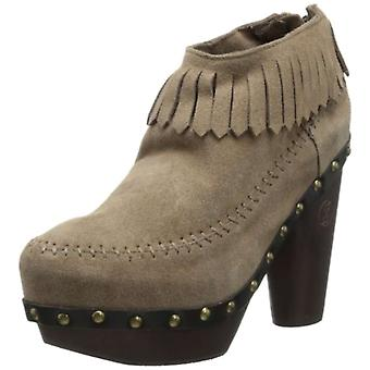Flogg Womens Davina Suede Round Toe Ankle Fashion Boots