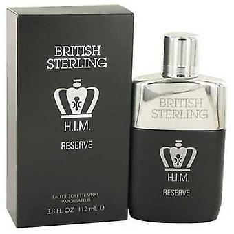 British Sterling him Reserve de dana EAU de Toilette Spray 3,8 oz (bărbați) V728-531042