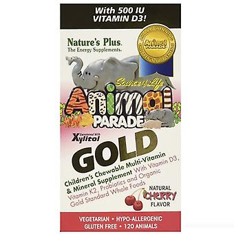 Nature's Plus Animal Parade Gold Chewable Multi Cherry Flavour 120 (29932)