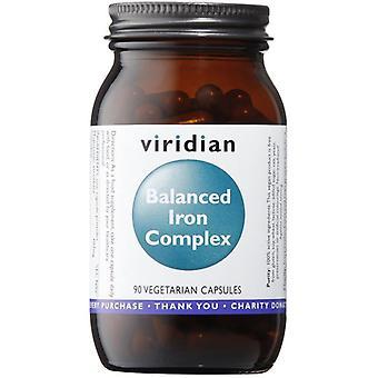 Viridian Balanced Iron Complex Veg Caps 90 (322)