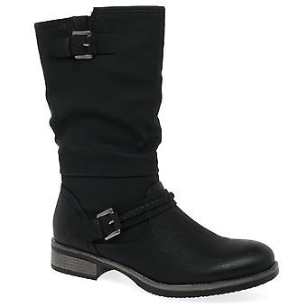 ريكر استيلا النساء طول العجل أحذية سلوش