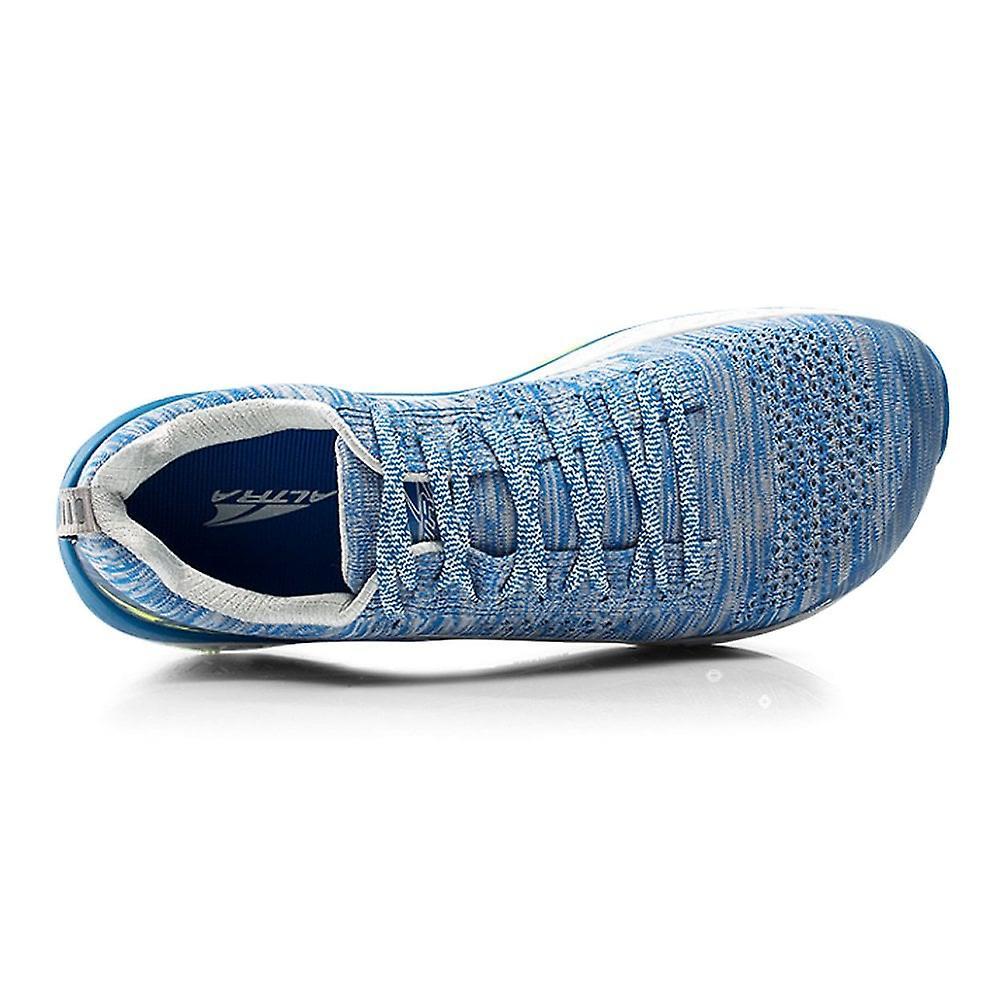 Altra Paradigm 4 Mens Zero Drop High Cushioning Road Running Shoes White/blue