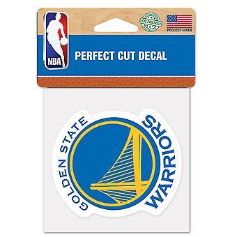 Wincraft merket 10x10cm - NBA Golden State Warriors