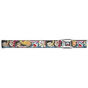 Seatbelt Belt - Doraemon - Adj 24-38