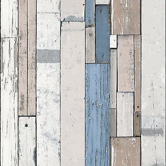 Muriva pictate lemn beam dungi model tapet în dificultate faux efect L10401