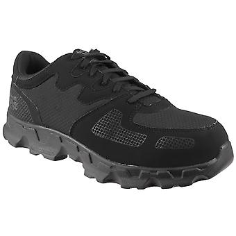 Timberland Pro Mens Powertrain Low Black Lace-up Safety Shoe