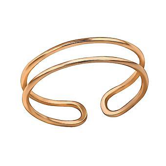 Open - 925 Sterling Silver Plain Rings - W30397x