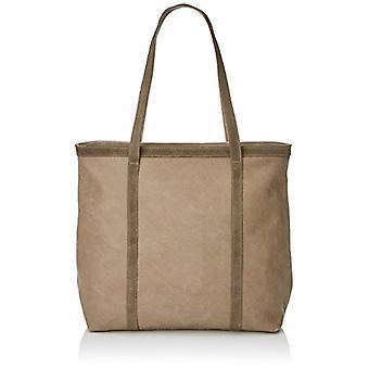 Timberland Tb0m5495 Brown Women's Tote Bag (Flint) 15.5x36x38.5 cm (W x H x L)