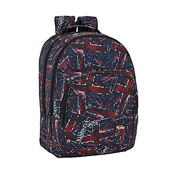Blackfit8 - Sports double backpack'Flags' - adaptable - Safta Protection - 320 x 420 x 160 mm