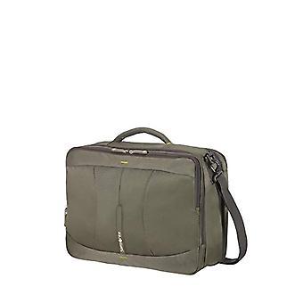Samsonite 4Mation 3-Way Zaino Casual - 43 cm - 36.5 litri - Olive/Yellow