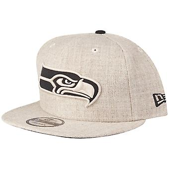 New Era 9Fifty Snapback Cap - Seattle Seahawks heather oat