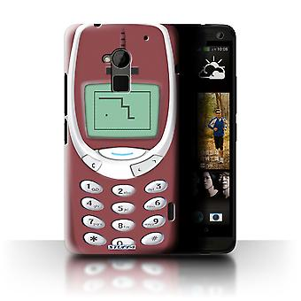 STUFF4 Case/Cover for HTC One Max/Red Nokia 3310/Retro Phones